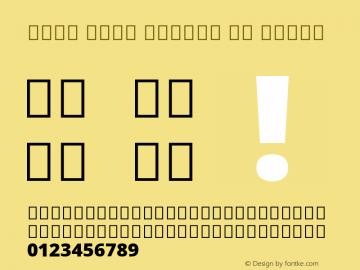 Noto Sans Arabic UI Black Version 2.005; ttfautohint (v1.8.3) -l 8 -r 50 -G 200 -x 14 -D arab -f none -a qsq -X