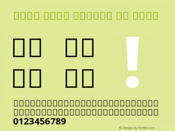 Noto Sans Arabic UI Bold Version 2.005; ttfautohint (v1.8.3) -l 8 -r 50 -G 200 -x 14 -D arab -f none -a qsq -X