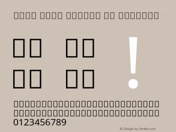 Noto Sans Arabic UI Regular Version 2.005; ttfautohint (v1.8.3) -l 8 -r 50 -G 200 -x 14 -D arab -f none -a qsq -X