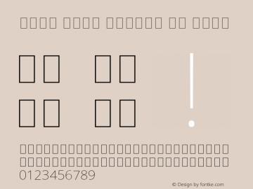 Noto Sans Arabic UI Thin Version 2.005; ttfautohint (v1.8.3) -l 8 -r 50 -G 200 -x 14 -D arab -f none -a qsq -X