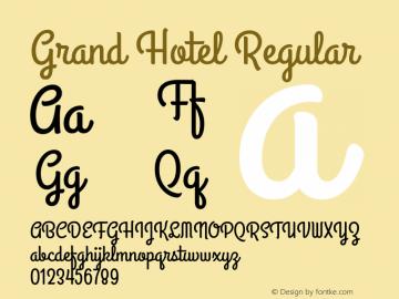 Grand Hotel Version 001.000图片样张