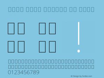 Noto Sans Arabic UI Thin Version 2.004 Font Sample