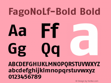 FagoNoLf-Bold Bold Converter: Windows Type 1 Installer V1.0d.