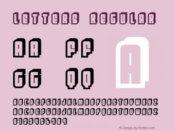 Letters Regular FENOTYPEFACES 2002 -Emil Bertell图片样张