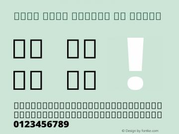 Noto Sans Arabic UI Black Version 2.008 Font Sample