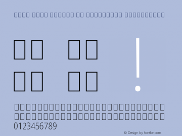 Noto Sans Arabic UI Condensed ExtraLight Version 2.008 Font Sample