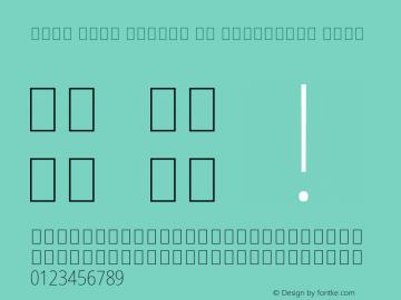 Noto Sans Arabic UI Condensed Thin Version 2.008; ttfautohint (v1.8.3) -l 8 -r 50 -G 200 -x 14 -D arab -f none -a qsq -X