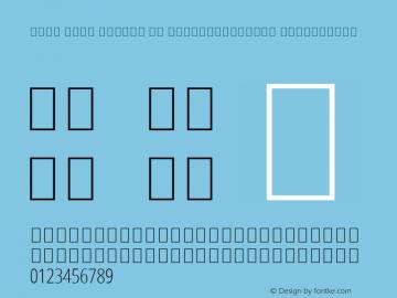 Noto Sans Arabic UI ExtraCondensed ExtraLight Version 2.008; ttfautohint (v1.8.3) -l 8 -r 50 -G 200 -x 14 -D arab -f none -a qsq -X