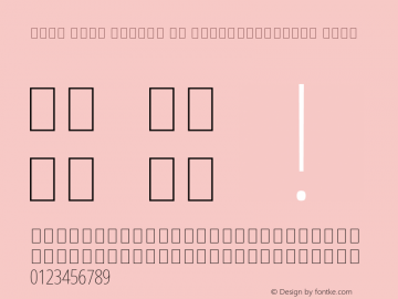 Noto Sans Arabic UI ExtraCondensed Thin Version 2.008; ttfautohint (v1.8.3) -l 8 -r 50 -G 200 -x 14 -D arab -f none -a qsq -X