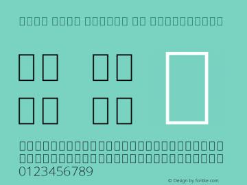 Noto Sans Arabic UI ExtraLight Version 2.008; ttfautohint (v1.8.3) -l 8 -r 50 -G 200 -x 14 -D arab -f none -a qsq -X