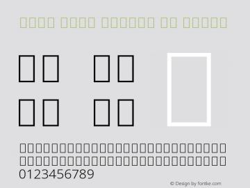Noto Sans Arabic UI Light Version 2.008 Font Sample