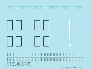 Noto Sans Arabic UI SemiCondensed Thin Version 2.008; ttfautohint (v1.8.3) -l 8 -r 50 -G 200 -x 14 -D arab -f none -a qsq -X