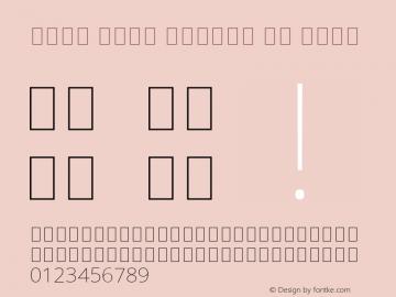 Noto Sans Arabic UI Thin Version 2.008; ttfautohint (v1.8.3) -l 8 -r 50 -G 200 -x 14 -D arab -f none -a qsq -X
