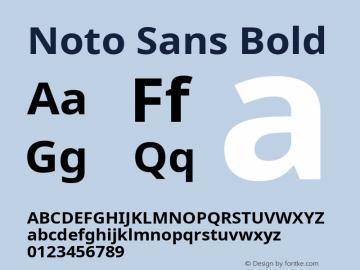 Noto Sans Bold Version 2.004; ttfautohint (v1.8.3) -l 8 -r 50 -G 200 -x 14 -D latn -f none -a qsq -X