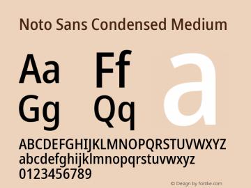 Noto Sans Condensed Medium Version 2.004; ttfautohint (v1.8.3) -l 8 -r 50 -G 200 -x 14 -D latn -f none -a qsq -X