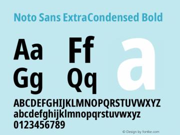 Noto Sans ExtraCondensed Bold Version 2.004; ttfautohint (v1.8.3) -l 8 -r 50 -G 200 -x 14 -D latn -f none -a qsq -X