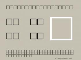 MD_Kufi_14 Regular Glyph Systems 10-jun-93图片样张