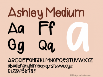 Ashley Version 001.000图片样张