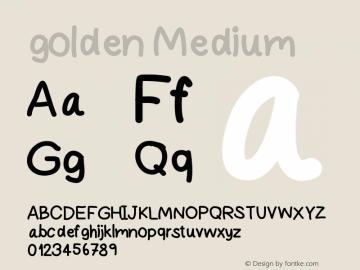 golden Version 001.000图片样张