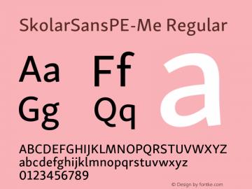 SkolarSansPE-Me Version 2.004;PS 2.003;hotconv 1.0.88;makeotf.lib2.5.647800; ttfautohint (v1.5);com.myfonts.easy.rosetta.skolar-sans-pe.medium.wfkit2.version.4Ft5图片样张