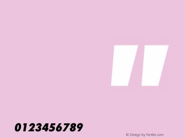 FuturaStd-NikePlus-CondExtraBoldOblMonoNum OTF 1.001;PS 001.004;Core 1.0.33;makeotf.lib1.4.1585图片样张