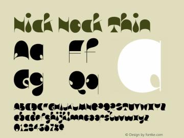 Nick Nock Thin Version 1.000图片样张