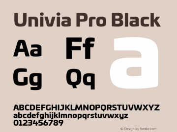 UniviaProBlack Version 001.000图片样张