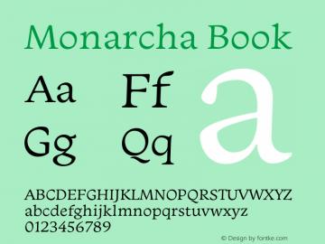 Monarcha-Book Version 1.00图片样张