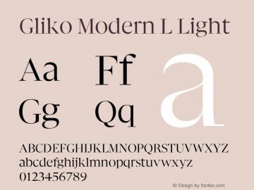 Gliko Modern L Light Version 2.000   w-rip DC20200115图片样张