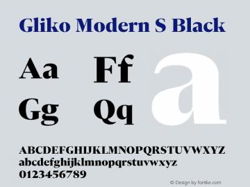 Gliko Modern S Black Version 2.000 | w-rip DC20200115图片样张