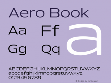 Aero-Book Version 1.000 | wf-rip DC20110725图片样张