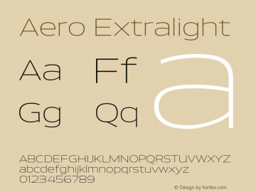 Aero-Extralight Version 0.000 | wf-rip DC20110725图片样张
