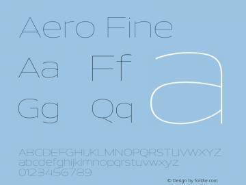 Aero-Fine Version 0.000 | wf-rip DC20110725图片样张