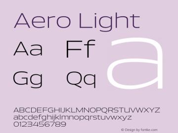 Aero-Light Version 1.000 | wf-rip DC20110725图片样张