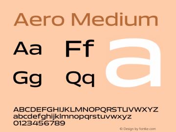 Aero-Medium Version 1.000 | wf-rip DC20110725图片样张