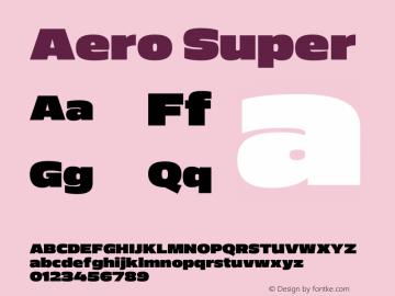 Aero-Super Version 0.000 | wf-rip DC20110725图片样张
