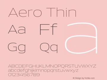 Aero-Thin Version 1.000 | wf-rip DC20110725图片样张