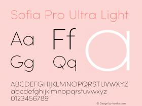 Sofia Pro Ultra Light Version 3.002 | w-rip DC20190510图片样张