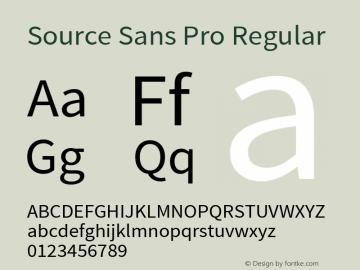 Source Sans Pro Regular Version 1.038;PS 1.000;hotconv 1.0.70;makeotf.lib2.5.5900图片样张