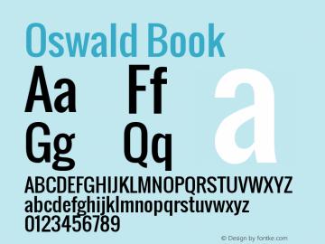 Oswald Book Version 1.000图片样张
