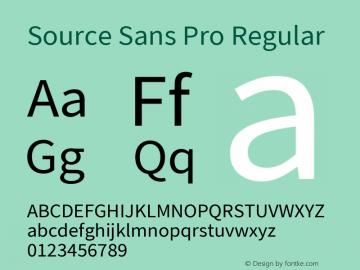 Source Sans Pro Regular Version 2.021;PS 2.000;hotconv 1.0.86;makeotf.lib2.5.63406; ttfautohint (v1.8.1)图片样张