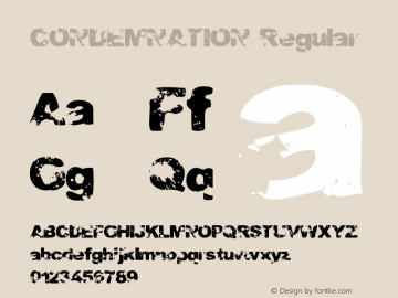 CONDEMNATION Regular Version 1.00图片样张