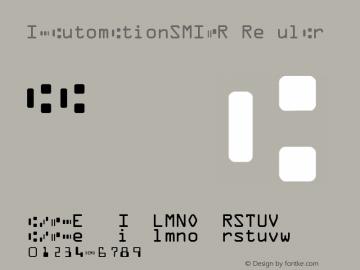 IDAutomationSMICR Regular Version 3.07 2003图片样张