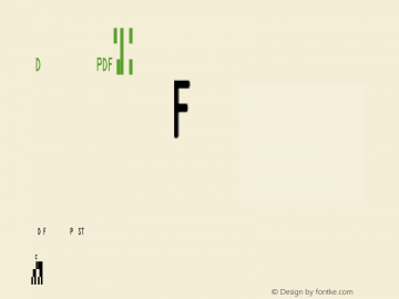 IDAutomationPDF417n5 Regular OTF 3.700;PS 003.007;Core 1.0.34图片样张