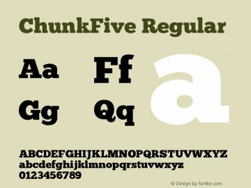 ChunkFive Version 001.001图片样张