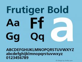 FrutigerCE-Bold 001.000图片样张
