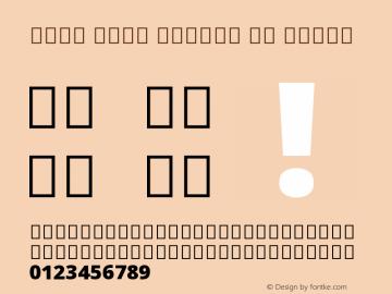 Noto Sans Arabic UI Black Version 2.001 Font Sample