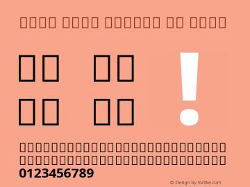 Noto Sans Arabic UI Bold Version 2.001 Font Sample