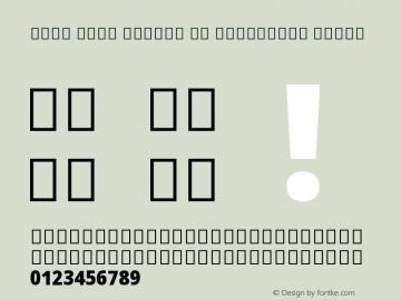 Noto Sans Arabic UI Condensed Black Version 2.001 Font Sample