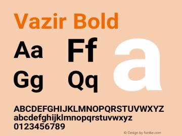 Vazir Bold Version 27.0.2图片样张